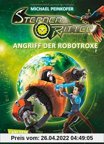 Sternenritter, Band 2: Angriff der Robotroxe