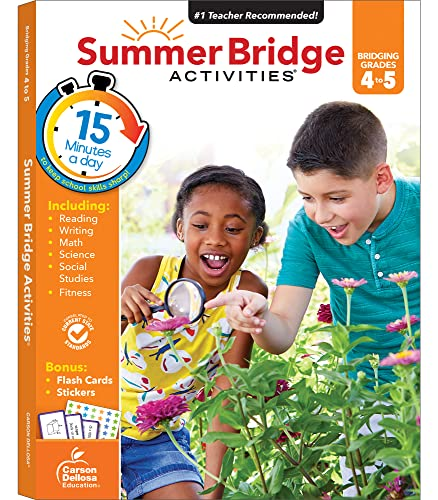 Summer Bridge Activities(r), Grades 4 - 5 von SPECTRUM