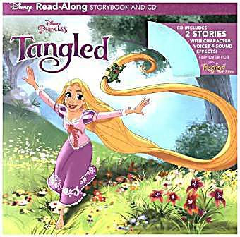 Tangled and Tangled Ever After Read-Along Storybook and CD Bindup