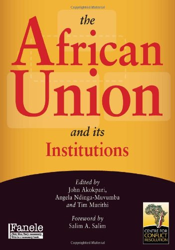 The African Union and its institutions von Jacana Media (Pty) Ltd