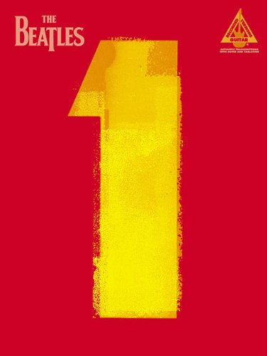 THE BEATLES 1 GUITAR (Guitar Recorded Versions) von Hal Leonard Publishing Corporation