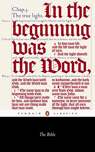 The Bible: King James Version with the Apocrypha (Penguin Classics) von Penguin Classics