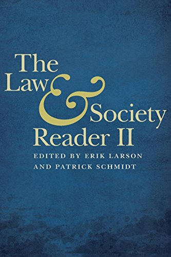 The Law & Society Reader II von NEW YORK UNIV PR