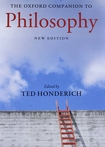 The Oxford Companion to Philosophy (Oxford Companions) von Oxford University Press
