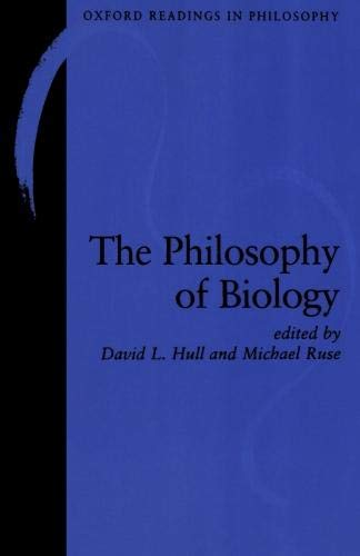 The Philosophy of Biology (Oxford Readings in Philosophy) von Oxford University Press, U.S.A.