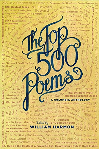 The Top 500 Poems (Columbia Anthologies)