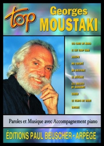 Top Georges Moustaki. Songbuch