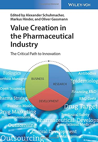 Value Creation in the Pharmaceutical Industry: The Critical Path to Innovation von Wiley VCH Verlag GmbH