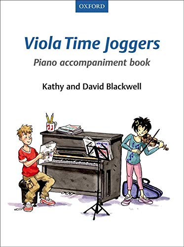 Viola Time Joggers Piano Accompaniment Book von Oxford University Press