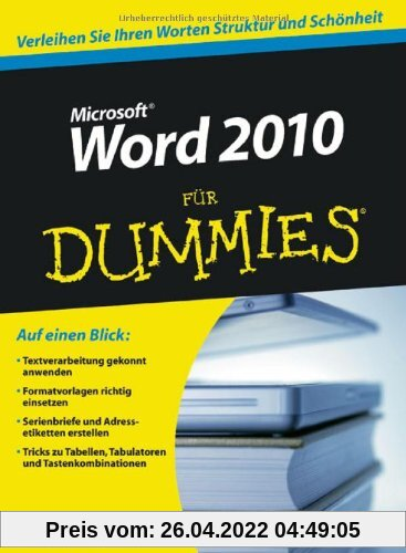 Word 2010 für Dummies (Fur Dummies)