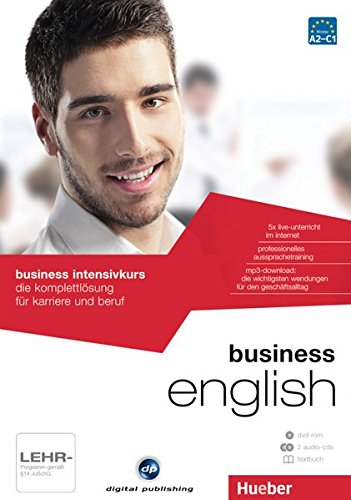 business intensivkurs english: die komplettlösung für karriere und beruf / Paket: 1 DVD-ROM + 2 Audio-CDs + 1 Textbuch (Businesskurse - digital publishing)